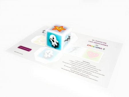 Juegos educativos para niños. El dado de la emociones